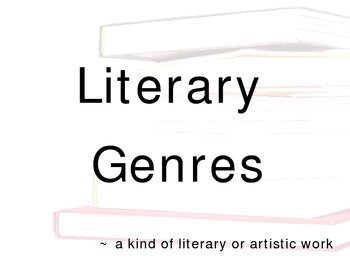 Literary Genres Power Point Presentation
