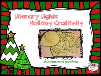 Literary Lights Holiday Craftivity