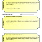 Literary Refection Journal Entries/Exit Tickets