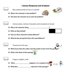 Literary Response and Analysis poster