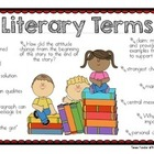 Literary Terms Poster