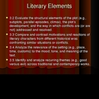 Literary Terms Powerpoint: Standards-Based
