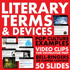 *Literary Terms/Devices* Full Semester of Lecture Slides f
