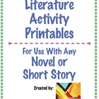 Literature Activities &amp; Response Pack: Text Structures &amp; L