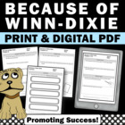 Literature Book Unit: Because of Winn Dixie
