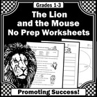 Lion and the Mouse Book Activities