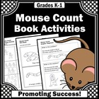 Mouse Count Book Activities
