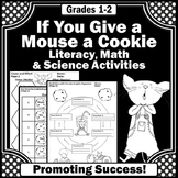 If You Give a Mouse a Cookie NO PREP Print & Go Math Liter