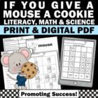 Mouse a Cookie 2nd Edition All NEW Math & Literacy Activities