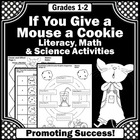 Mouse a Cookie Book Math Literacy and Science Activities
