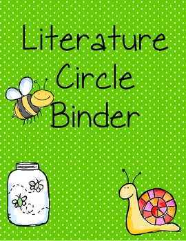 Literature Circle Binder Cover