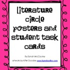 Literature Circle Job Posters and Student Task Cards