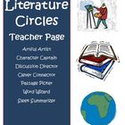 Literature Circle Jobs Activity Sheets Common Core Standards