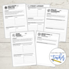 Literature Circle Printables
