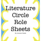 Literature Circle Role Sheets (6 Roles)
