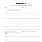 Literature Circle Worksheets