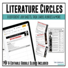 Literature Circles Complete Packet (includes Depth &amp; Compl