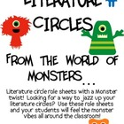 Literature Circles Packet...From the World of Monsters!