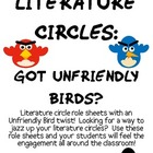 Literature Circles Packet...Got Unfriendly Birds?
