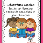 Literature Circles- Setting Up Literature Circles in Your