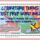 Literature Elements Test Prep Pack: Small Large Color/BlackWhite