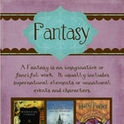 Literature Genre Posters