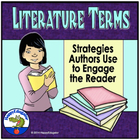 Literature Terms - How Authors Engage Readers PowerPoint