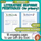 Literature Worksheets 2 (Primary), 18 Ready to Use Pages f