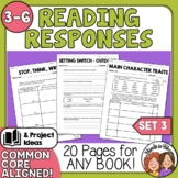 Reading Response Printables #3: More Ready-to-Use Activiti