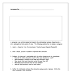 Literature Worksheets &amp; Graphic Organizers: Novel or Short Story