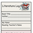 Literature/Reading Response Log