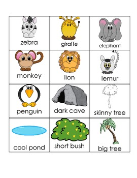 Little Animals Emergent Sight Word Reader