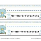 Little Blue Bird Desk Nameplates
