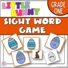Little Bunny Sight Word Game Grade One Dolch Word List