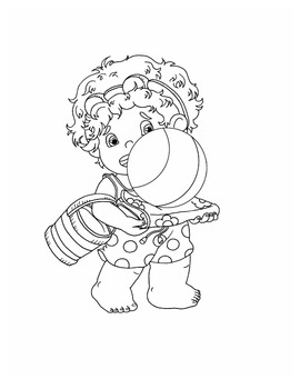 Little Curls Coloring Book