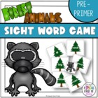 Little Deer Sight Word Game Pre Primer Dolch List