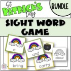 St. Patrick's Day Sight Word Games (BUNDLED)