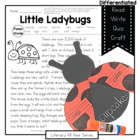 Little Ladybugs: Informational Reading, Writing, Compound 