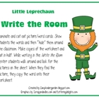 Little Leprechaun Write the Room