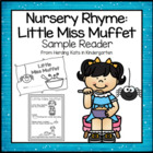 Little Miss Muffet Emergent Reader Nursery Rhyme