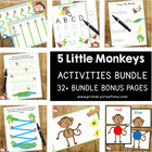 Little Monkeys Preschool - PreKinder Pack