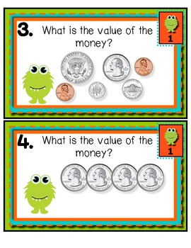 Little Monster Money Match Tiered Math Tub