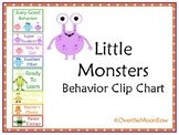 Little Monsters Behavior Clip Chart