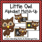 Little Owl Alphabet Match-Up