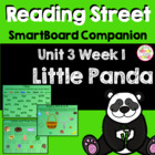 Little Panda SmartBoard Companion Reading Street Kindergarten