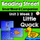 Little Quack SmartBoard Companion Reading Street Kindergarten