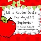 Little Reader Books for August &amp; September