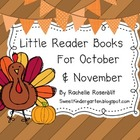 Little Reader Books for October & November