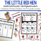 Little Red Hen Fable Companion Pack (1st Grade Common Core