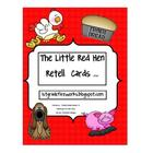 Little Red Hen Retell Cards